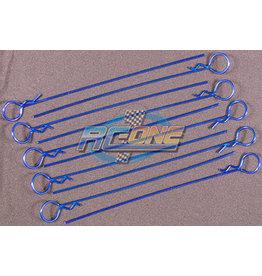 IMEX RCO4026 MEDIUM LONG BODY PINS (10): NAVY BLUE
