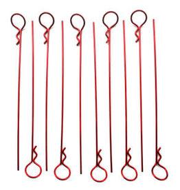IMEX RCO4029 MEDIUM LONG BODY PINS (10): RED