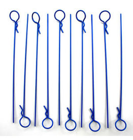 IMEX RCO4024 MEDIUM LONG BODY PINS (10): BLUE