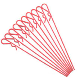 IMEX RCO4037 LARGE LONG BODY PIN (10): RED