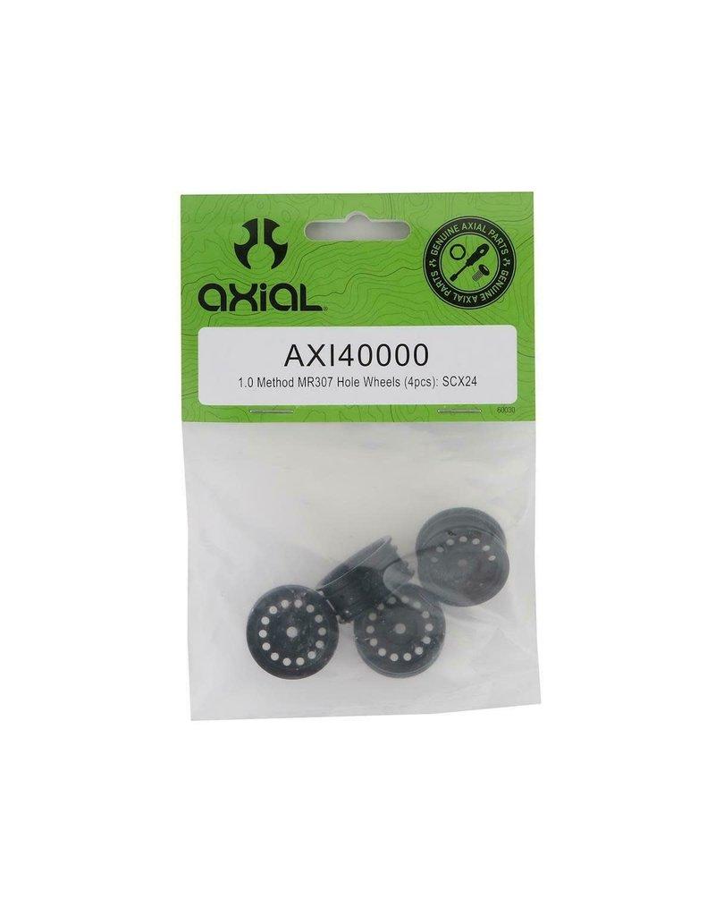 AXIAL AXI40000 1.0 METHOD MR307 HOLE WHEELS (4PCS): SCX24