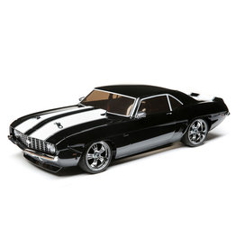 LOSI LOS03033T2 V100 CHEVY CAMARO 1969 RTR: BLACK