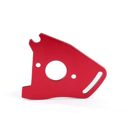 TRAXXAS TRA7490R MOTOR PLATE RED