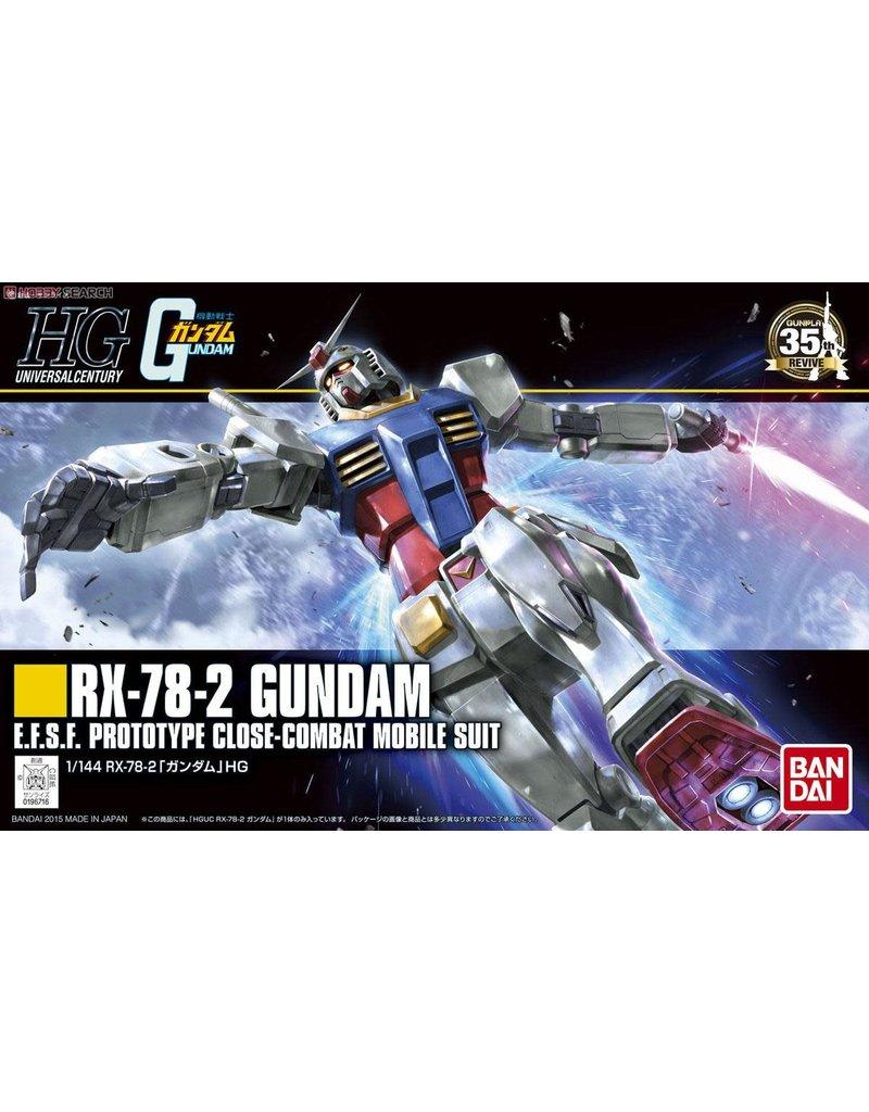 """BANDAI BAS5057403 #191 RX-78-2 GUNDAM (REVIVE) """"MOBILE SUIT GUNDAM"""", BANDAI"""