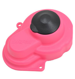 RPM RPM80527 SEALED GEAR COVER, PINK: SLH 2WD, RUSTLER 2WD