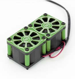 POWER HOBBIES PHBPHF116GREEN TWISTER TWIN DUAL 40MM FANS