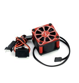 POWER HOBBIES PHBPHF118RED TWISTER  SINGLE FAN FOR 1/10 &1/8 MOTOR