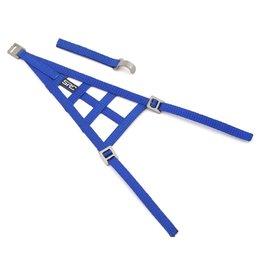 SIDEWAYS RC SDW-TRIWNEW-BL SIDEWAYS RC SCALE DRIFT TRIANGLE WINDOW NET (BLUE)