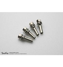 JUNFAC JUN51133 M4 BARREL NUTS (20MM) (4)