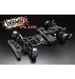 YOKOMO YOKDP-YD2EPLS YOKOMO YD-2E PLUS 2WD RWD DRIFT CAR KIT (GRAPHITE CHASSIS)