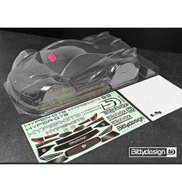 BITTYDESIGN BDGT8-HYP HYPER-GT8 1/8 CLEAR BODY 325*330MM WB