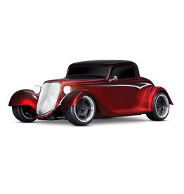 TRAXXAS TRA93044-4 4-TEC 3.0 1933 FACTORY FIVE HOT ROD COUPE: RED FADE