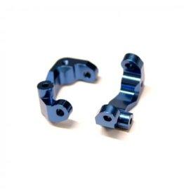 STRC STRCSTC91417CB DR10 ALUMINUM CASTER BLOCKS (BLUE) (2)