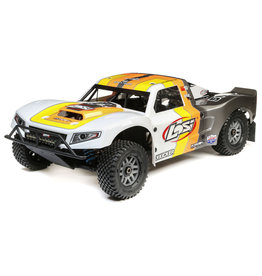 LOSI LOS05014V2T2 5IVE-T 2.0 V2: 1/5 4WD SCT GAS BND: GRY/ORG/WHT