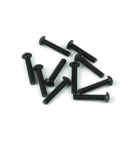 TEKNO RC TKR1407 3x16mm Button Head Screw (10)