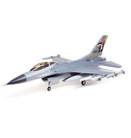 E-FLITE EFL87850 F-16 FALCON 80MM EDF JET SMART BNF BASIC WITH SAFE SELECT