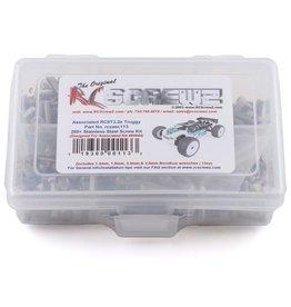 RC SCREWZ RCZASC113  Associated RC8T3.2e Stainless Steel Screw Kit