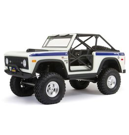 AXIAL *PRE-ORDER* AXI03014T2 SCX10 III EARLY FORD BRONCO 1/10 4WD RTR (WHITE)
