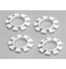 """JCONCEPTS JCO2212-3 """"SATELLITE"""" TIRE GLUE BANDS (WHITE)"""