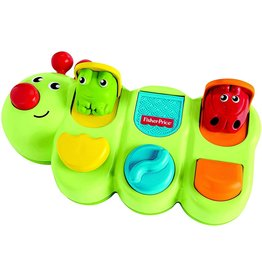 FISHER PRICE FP GYM47 CATERPILLER POP-UP