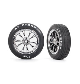 TRAXXAS TRA9474R WELD TIRES AND WHEELS CHROME