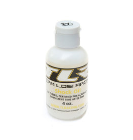 TLR TLR74028 SILICONE SHOCK OIL, 27.5WT, 294CST, 4OZ