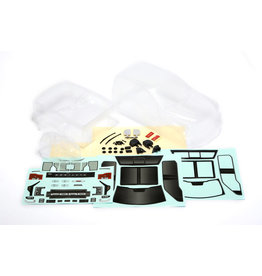 CEN RACING CD0903 FORD F-450 SD COMPLETE CLEAR BODY