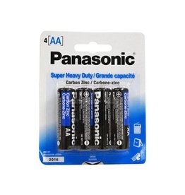 PANASONIC 4 PACK PANASONIC AA BATTERIES
