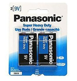 PANASONIC PANASONIC 9V BATTERIES (2)