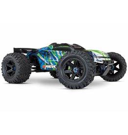 TRAXXAS TRA86086-4_GRN E-REVO VXL BRUSHLESS:  1/10 SCALE 4WD BRUSHLESS ELECTRIC MONSTER TRUCK WITH TQI 2.4GHZ TRAXXAS LINK ENABLED RADIO SYSTEM AND TRAXXAS STABILITY MANAGEMENT (TSM)