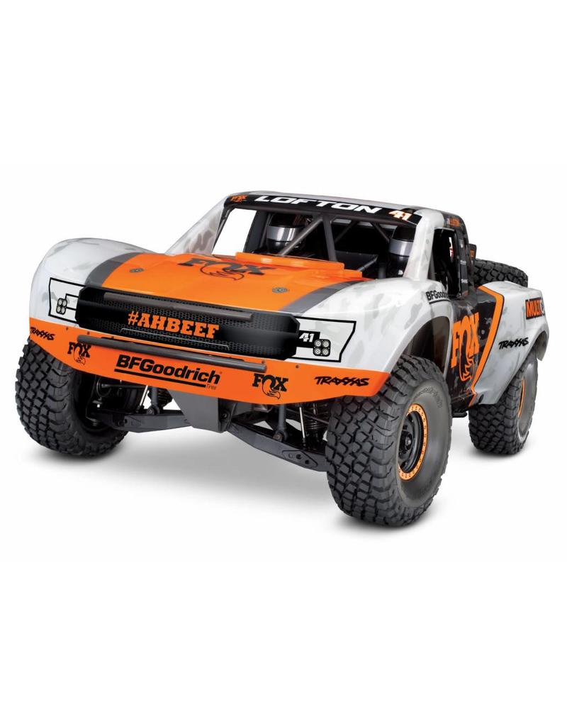Tra85076 4 Fox Unlimited Desert Racer 4wd Electric Race Truck With Tqi Traas Link Enabled 2 4ghz Radio System