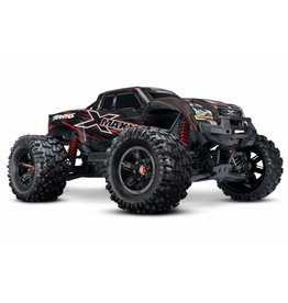 TRAXXAS TRA77086-4_RED X-MAXX: BRUSHLESS ELECTRIC MONSTER TRUCK WITH TQI TRAXXAS LINK ENABLED 2.4GHZ RADIO SYSTEM & TRAXXAS STABILITY MANAGEMENT (TSM)