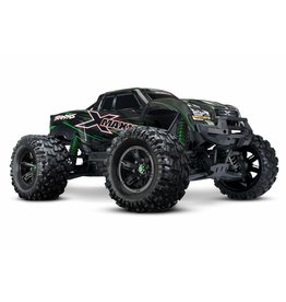 TRAXXAS TRA77086-4_GRN X-MAXX: BRUSHLESS ELECTRIC MONSTER TRUCK WITH TQI TRAXXAS LINK ENABLED 2.4GHZ RADIO SYSTEM & TRAXXAS STABILITY MANAGEMENT (TSM)