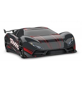 TRAXXAS TRA64077-3 BLACK XO-1: 1/7 SCALE AWD SUPERCAR WITH TQI 2.4GHZ RADIO SYSTEM, TRAXXAS LINK WIRELESS MODULE, & TRAXXAS STABILITY MANAGEMENT (TSM)