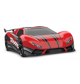 TRAXXAS TRA64077-3 RED XO-1: 1/7 SCALE AWD SUPERCAR WITH TQI 2.4GHZ RADIO SYSTEM, TRAXXAS LINK WIRELESS MODULE, & TRAXXAS STABILITY MANAGEMENT (TSM)