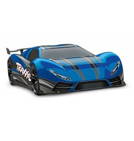 TRAXXAS TRA64077-3 BLUE XO-1: 1/7 SCALE AWD SUPERCAR WITH TQI 2.4GHZ RADIO SYSTEM, TRAXXAS LINK WIRELESS MODULE, & TRAXXAS STABILITY MANAGEMENT (TSM)