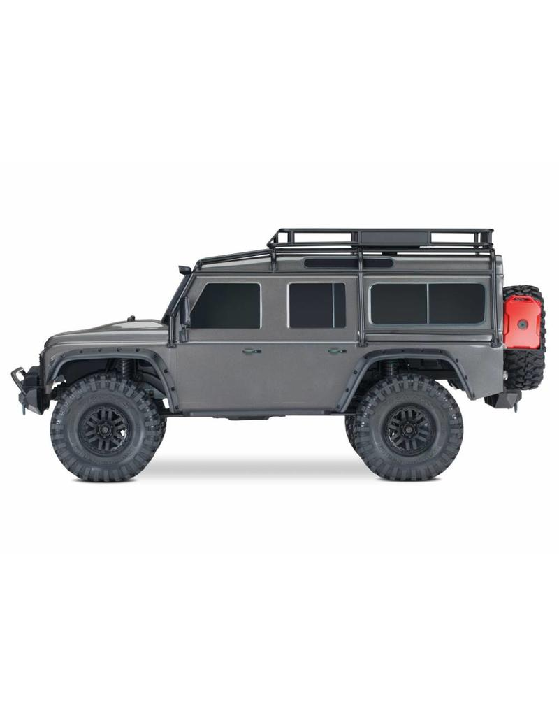 TRAXXAS TRA82056-4_SLVR TRX-4 SCALE AND TRAIL CRAWLER WITH LAND ROVER®  DEFENDER® BODY: 4WD ELECTRIC TRAIL TRUCK WITH TQI TRAXXAS LINK ENABLED  2 4GHZ