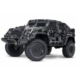 TRAXXAS TRA82066-4_CAMO TRX-4 TACTICAL UNIT: 4WD ELECTRIC TRUCK WITH TQI TRAXXAS LINK ENABLED 2.4GHZ RADIO SYSTEM