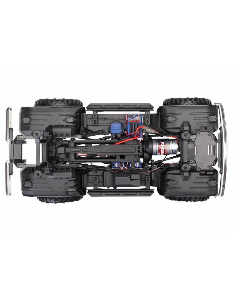 TRAXXAS TRA82046-4_SUN TRX-4 SCALE AND TRAIL CRAWLER WITH FORD BRONCO BODY:  4WD ELECTRIC TRUCK WITH TQI TRAXXAS LINK ENABLED 2 4GHZ RADIO SYSTEM