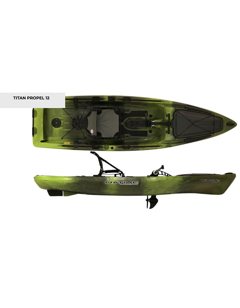 Native Watercraft 2020 Titan Propel 12