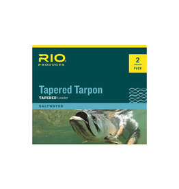 RIO Products Tapered Tarpon 12ft Leader: 2 Pack