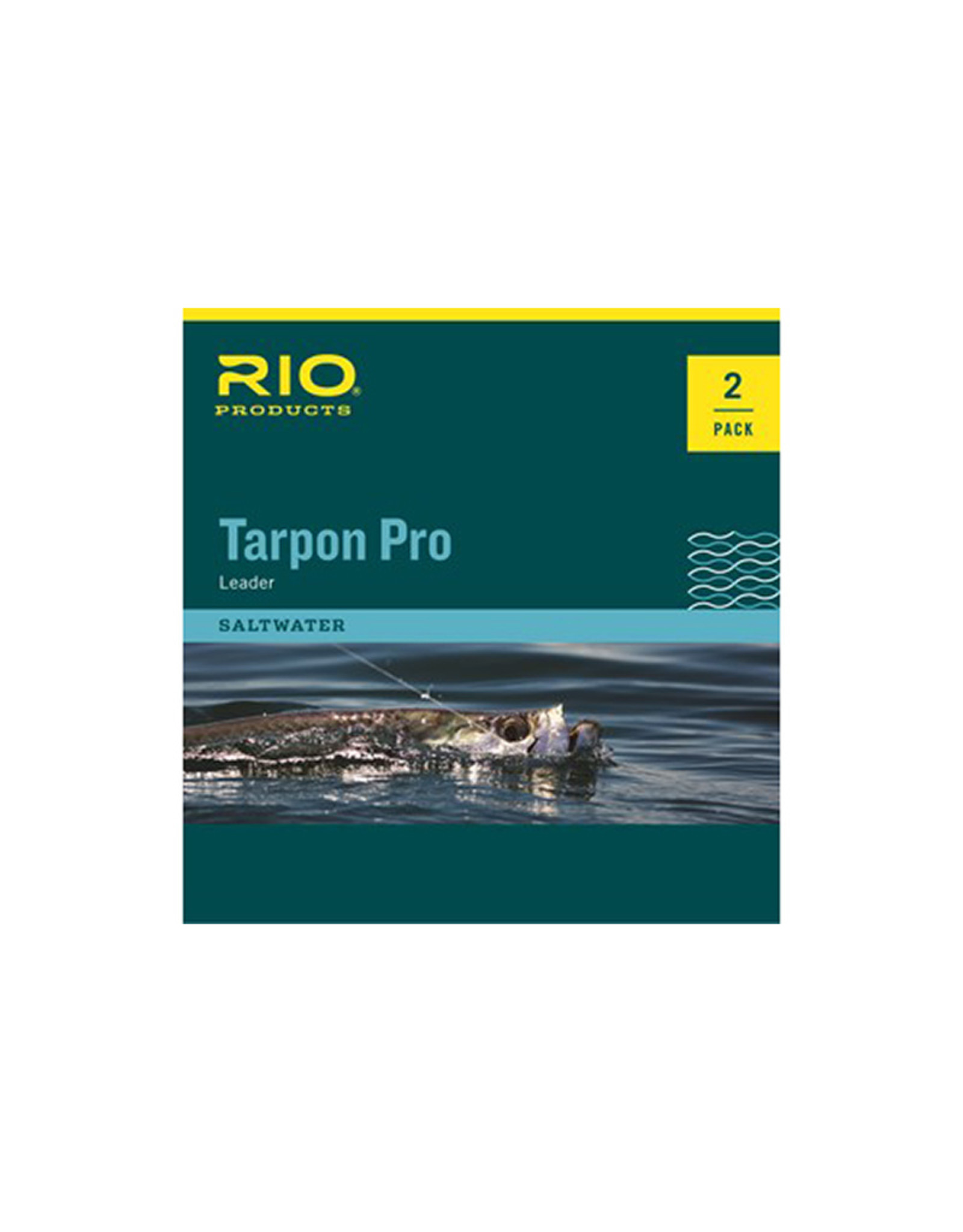 RIO Products Tarpon Pro 20lb Class 10ft Tapered Leader: 2 Pack