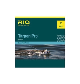 RIO Products Tarpon Pro 30lb Class 10ft Tapered Leader: 2 Pack
