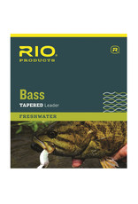 RIO Products Bass 9ft Leader: 3 Pack