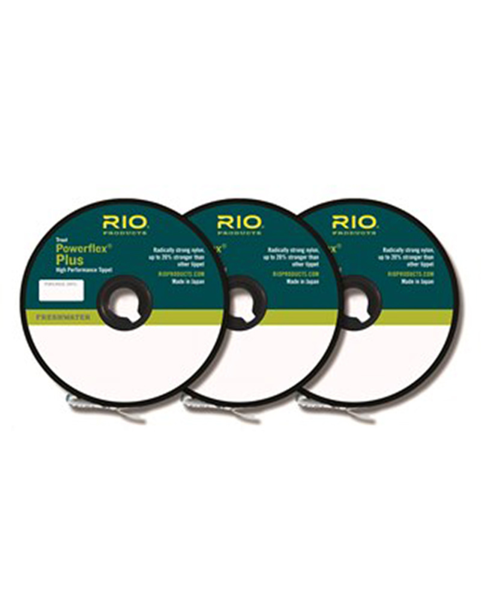 RIO Products Powerflex Plus Tippet: 3 Pack