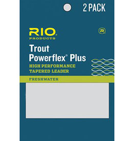 RIO Products Powerflex Plus 7.5ft Leader: 2 Pack