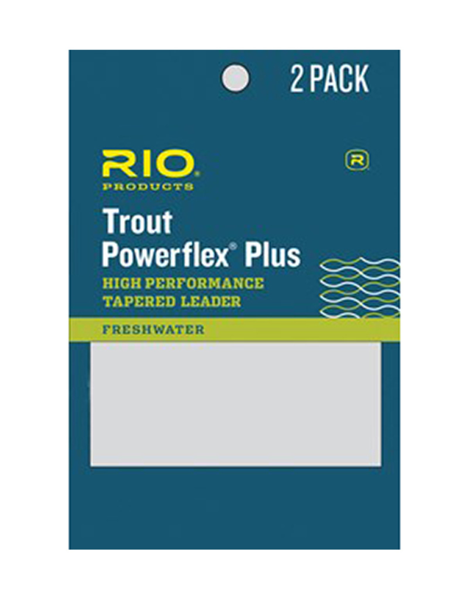 RIO Products Powerflex Plus 9ft Leader: 2 Pack