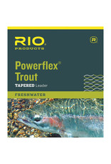 RIO Products Powerflex Trout 7.5ft Leader: 3 Pack