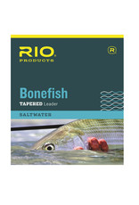 RIO Products Bonefish 10ft Tapered Leader: 3 Pack