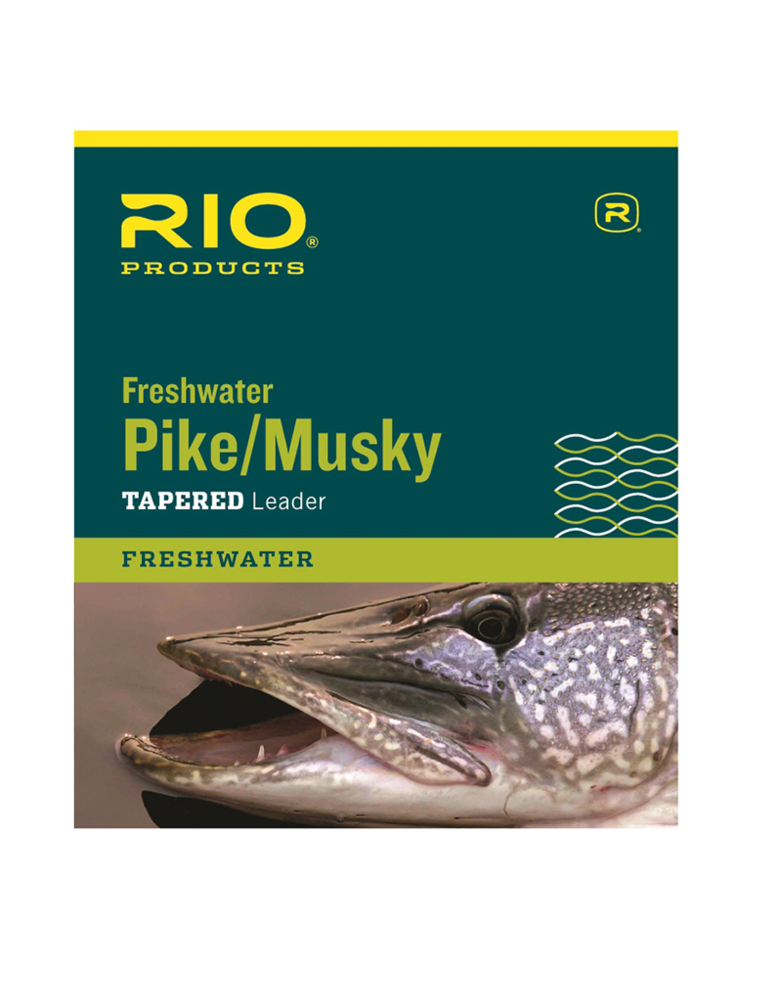 RIO Products Pike/Musky 7.5ft Leader (wire w/link)